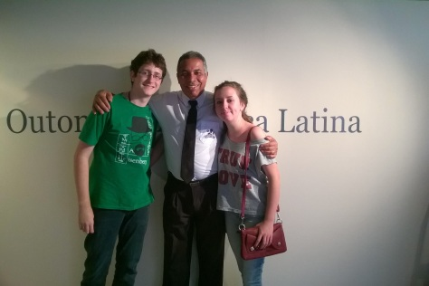Memorial da América Latina com o Sr. Araújo!