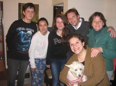 Coni, Cris, Fran, Myriam e Daniely