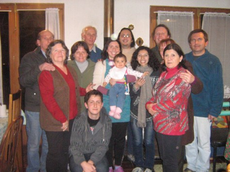 Família do Humberto e Roberto! Ivan, meu padrinho.
