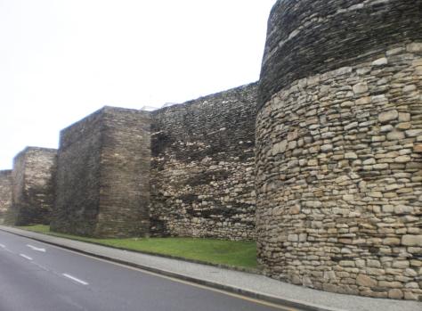 Muralha Romana de Lugo, Espanha.